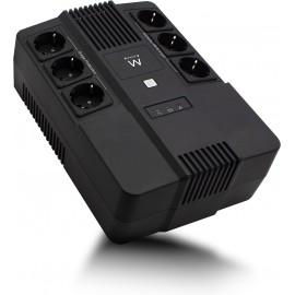 Ewent EW3945 UPS Linha interativa 600 VA 360 W 1 tomada(s) CA