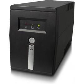 Ewent EW3946 UPS Linha interativa 600 VA 360 W 1 tomada(s) CA