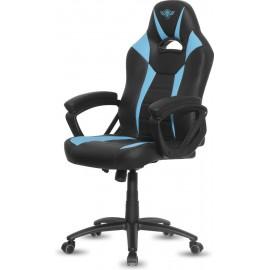 Spirit of Gamer Fighter Cadeira de jogos para PC Assento acolchoado Preto, Azul