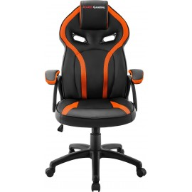 Mars Gaming MGC118 Cadeira de jogos universal Assento acolchoado Preto, Laranja