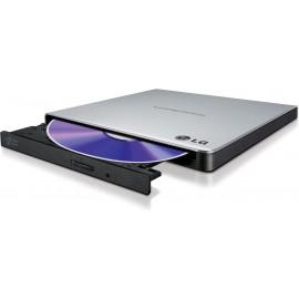 LG GP57ES40 unidade de disco ótico Prateado DVD Super Multi