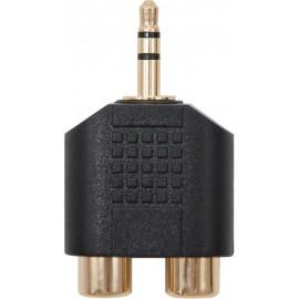 Nanocable 10.27.0015 repartidor de áudio Preto