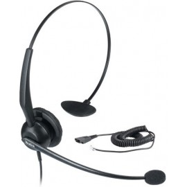 Yealink YHS32 Conjunto de auscultadores e microfone acoplado Fita de cabeça Preto