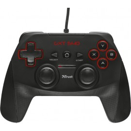 Trust GXT 540 Gamepad PC,Playstation 3 RF Preto