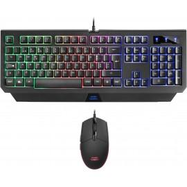 Mars Gaming MCP100PT teclado USB Português Preto