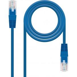 Nanocable 10.20.0101-BL cabo de rede 1 m Cat5e U UTP (UTP) Azul