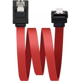 Nanocable 10.18.0301 cabo SATA 0,5 m Preto, Vermelho