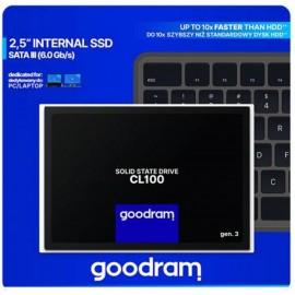GOODRAM CL100 Gen3 SSD 120GB SATA3