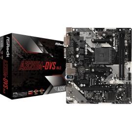 Asrock A320M-DVS R4.0 Socket AM4 Micro ATX AMD A320