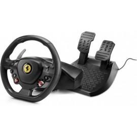 Thrustmaster T80 Ferrari 488 GTB Edition Volante + Pedais PlayStation 4 Digital Preto