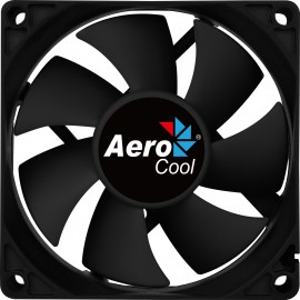 Aerocool Force 8 Caixa de computador Refrigerador 8 cm Preto