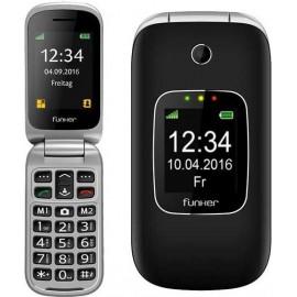 "Funker C85 6,1 cm (2.4"") 85 g Preto Telefone básico"
