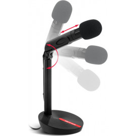 Spirit of Gamer MIC-EKO microfone Microfone para consola de jogos Preto
