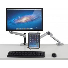Ergotron 45-460-026 mesa & suporte audiovisual Organizador de tablets Prateado