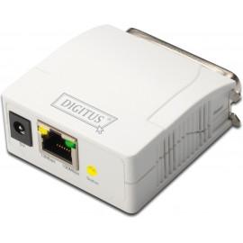 Digitus DN-13001-1 servidor de impressão Branco Ethernet LAN