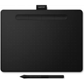 Wacom Intuos M Bluetooth mesa digitalizadora 2540 lpi 216 x 135 mm USB Bluetooth Preto