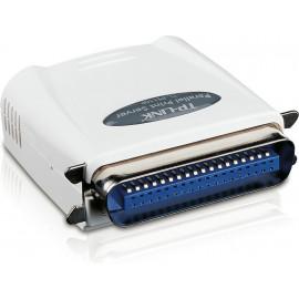 TP-LINK Single Parallel Port Fast Ethernet Print Server servidor de impressão Ethernet LAN
