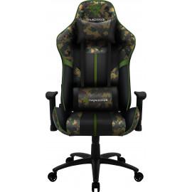 ThunderX3 BC3 Camo Cadeira de jogos universal Camuflagem, Verde