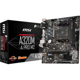 MSI A320M-A PRO M2 Socket AM4 micro ATX AMD A320