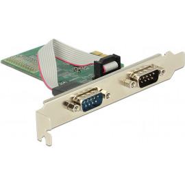 DeLOCK 89555 placa adaptador de interface Serial Interno