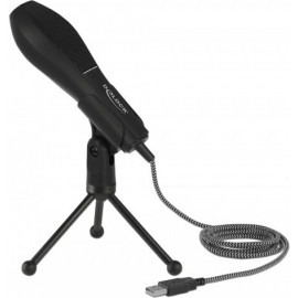 DeLOCK 65939 microfone Microfone de conferência Preto