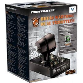 Thrustmaster HOTAS Warthog Dual Throttles Simulador de voo PC USB Preto
