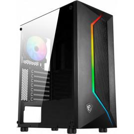 MSI MAG VAMPIRIC 100R 'V100R' ARGB Mid Tower Gaming Computer Case Midi Tower Preto