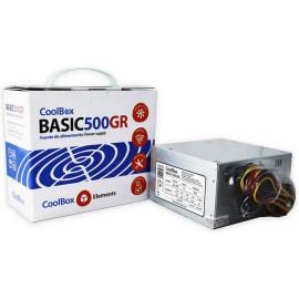 CoolBox Basic 500GR fonte de alimentação 300 W 20+4 pin ATX ATX Metálico