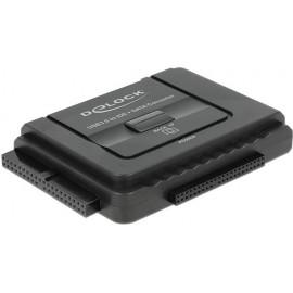 DeLOCK 61486 cabo de interface adaptador de género Preto