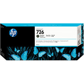 HP 726 Original Preto mate