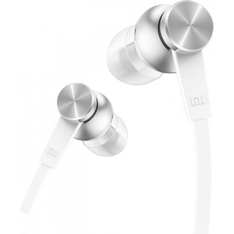 Xiaomi Mi In-Ear Headphones Basic Auscultadores Intra-auditivo Conetor 3,5 mm Prateado, Branco