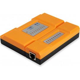 Equip 129967 testador de cabo de rede Laranja