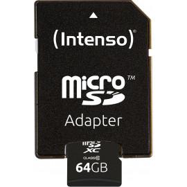 Intenso 64GB MicroSDHC cartão de memória MicroSDXC Classe 10