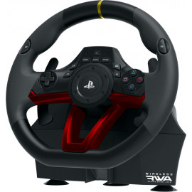 Hori Racing Wheel APEX Preto, Vermelho Bluetooth USB Volante + Pedais Analógico   Digital PC, PlayStation 4