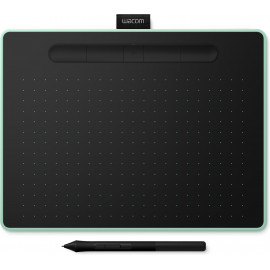 Wacom Intuos M Bluetooth mesa digitalizadora Preto, Verde 2540 lpi 216 x 135 mm USB Bluetooth