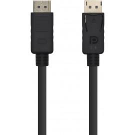 AISENS A149-0390 cabo DisplayPort 2 m Preto
