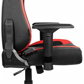 MSI MAG CH110 cadeira gaiming Cadeira de jogos para PC Preto, Vermelho