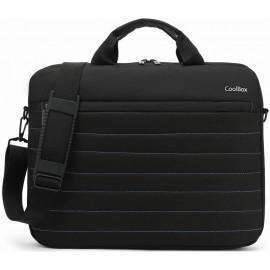 "CoolBox COO-BAG15-1N mala para portáteis 39,6 cm (15.6"") Estojo Preto"