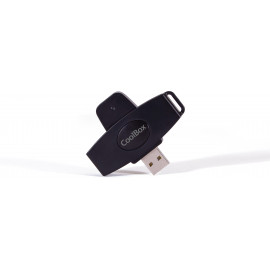 CoolBox CSI-680 leitor de smart card Interior exterior USB 2.0 Preto