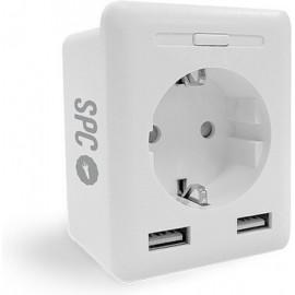 SPC CLEVER PLUG USB tomada inteligente 2300 W Branco