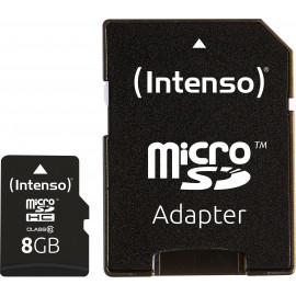 Intenso 8GB MicroSDHC cartão de memória Classe 10