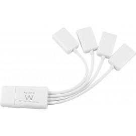 Ewent EW1110 hub de interface 480 Mbit s Branco