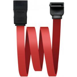Nanocable 10.18.0202-OEM cabo SATA 0,5 m Preto, Vermelho