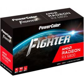 PowerColor AXRX 6800 16GBD6-3DH OC placa de vídeo AMD Radeon RX 6800 16 GB GDDR6