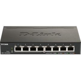 D-Link DGS-1100-08PV2 switch de rede Gerido L2 L3 Gigabit Ethernet (10 100 1000) Power over Ethernet (PoE) Preto