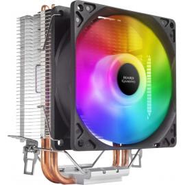 Mars Gaming MCPUARGB ventoinha para PC Processador Cooler 9 cm Preto 1 unidade(s)