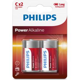 Philips LR14P2B 05 pilha Bateria descartável LR14 Alcalino