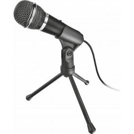 Trust 21671 microfone Preto Microfone para PC