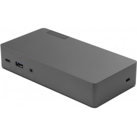 Lenovo Thunderbolt 3 Essential Dock placa adaptador de interface 3.5 mm, DisplayPort, HDMI, RJ-45, USB 3.2 Gen 1 (3.1 Gen 1)