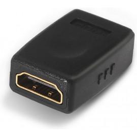 AISENS A121-0123 adaptador para cabos HDMI Type A Preto
